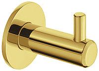 Крючок, нержавеющая сталь, золотистый полированный, 55 x 14 x 35 мм, фото 1