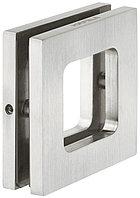 Ручка для стеклянной двери 8-12.7 мм, 70х70 мм, нержавеющая сталь, фото 1