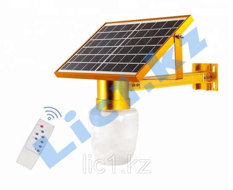 Светильник на солнечной  батарее светодиодный настенный SL8   15 Вт