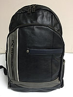 Городской кожаный рюкзак Valtex. Высота 41 см,длина 28 см,ширина 18 см., фото 1