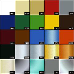 Аллюминиеые композитные панели Bildex  (белый/черный глянец)