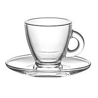 Набор чаш для кофе+блюдца ROM
