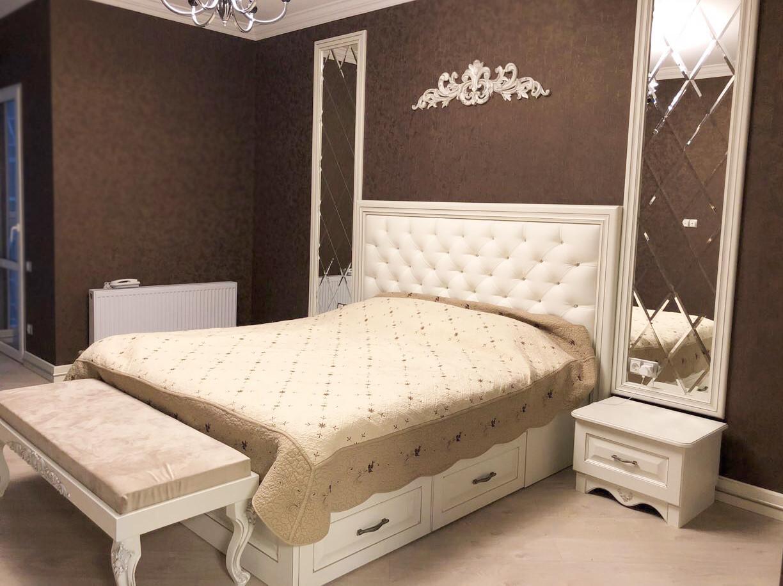 Изготовление двуспальной кровати