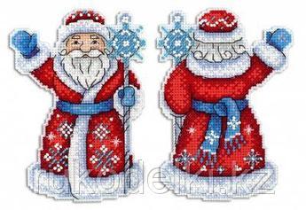 """Набор для вышивания крестом """"Дедушка Мороз"""""""