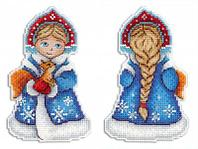 """Набор для вышивания крестом """"Снегурочка"""""""