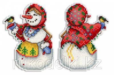 """Набор для вышивания крестом """"Снеговушка"""""""
