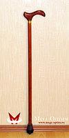 Трость деревянная с УПС с деревянной ручкой