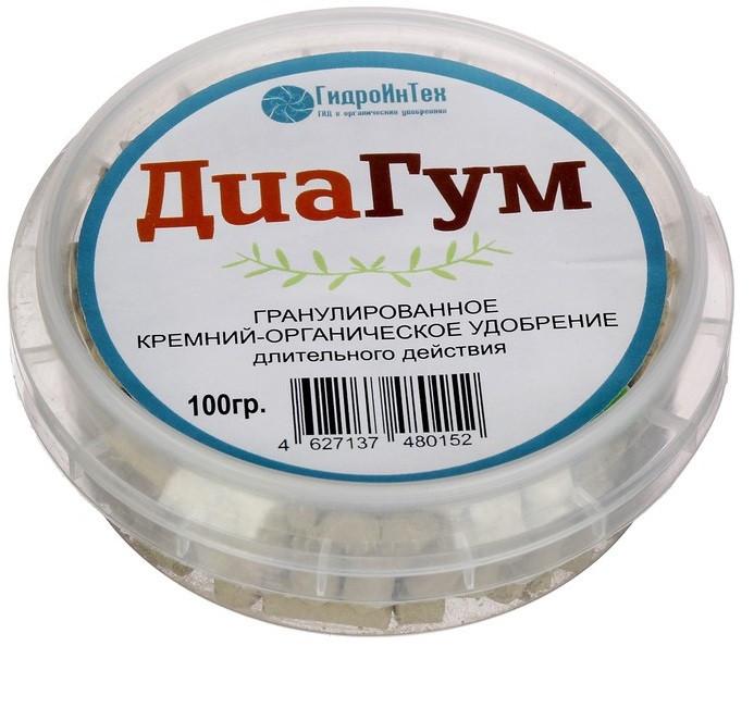 Кремний-органическое удобрение «ДиаГум» 100 гр.