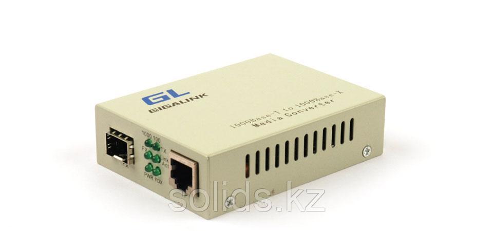 Медиаконвертер неуправляемый, UTP-SFP, 1000Мбит/с