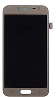Дисплей SAMSUNG J2 2017 J250F (копия тайвань)  с сенсором, цвет золотистый