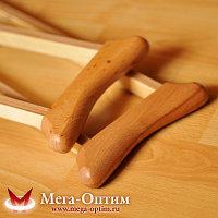 Костыли подмышечные с деревянными ручками 02-К с УПС (Штырь)