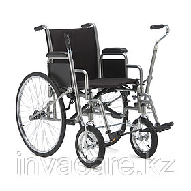 Кресло-коляска для инвалидов с рычажным управлением H 004 (для левшей)
