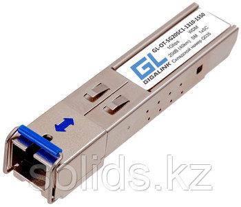 Модуль GIGALINK SFP, WDM, 1Гбит/c, одно волокно SM, SC, Tx:1310/Rx:1550 нм, 20 дБ (до 40 км)
