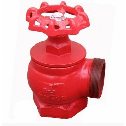 Чугунный пожарный клапан