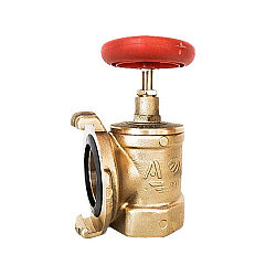 Клапан пожарный латунный