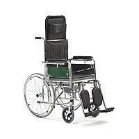 """Кресло-коляска с высокой регулирующейся спинкой и сан.оснащением """"Armed"""" FS619GC"""