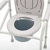 """Кресло-туалет складной со сменными ножками (без колес, с колесами) """"Armed"""" FS693, фото 2"""