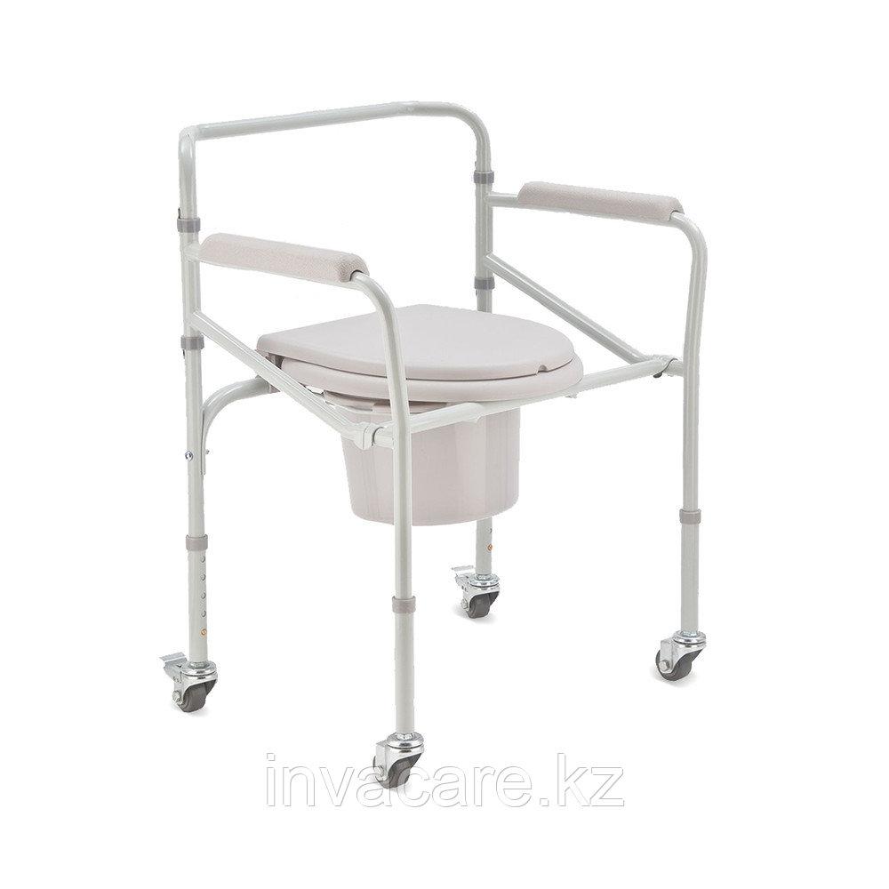 Кресло-туалет на колесиках Н 005В