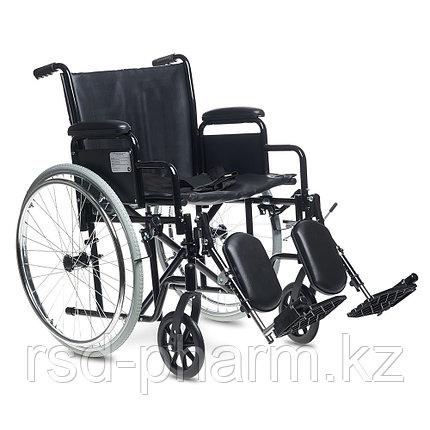 Кресло-коляска для инвалидов повышенной грузоподъемности  H 002 (20 дюймов), фото 2