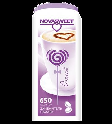 Заменитель сахара Novasweet, 650 таб