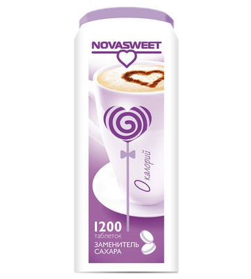 Заменитель сахара Novasweet, 1200 таб