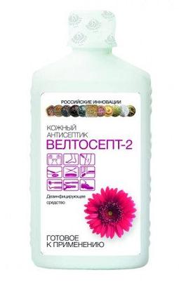 Кожный антисептик на основе изопропилового спирта Велтосепт 2, фото 2