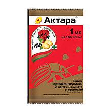 АКТАРА-1мл ампула Защита картофеля, смородины и цветущих от вредителей.