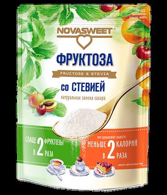 Фруктоза со стевией Novasweet, 250 гр