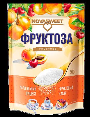 """Фруктоза мягкая упаковка, 500 гр """"Novasweet"""""""