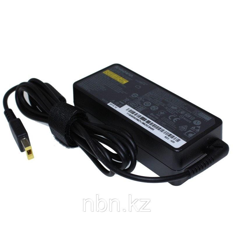 Зарядное устройство / блок питания / Lenovo 20В / 3.25A / 65Ват /  прямоугольный разъём с иглой / ORIGINAL
