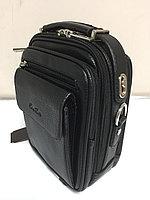 Мужская деловая сумка под документы Cantlor. Высота 25 см, ширина 20 см, глубина 9 см., фото 1