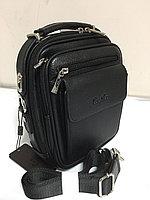 """Мужская деловая сумка под документы """"Cantlor"""". Высота 25 см, ширина 20 см, глубина 9 см., фото 1"""