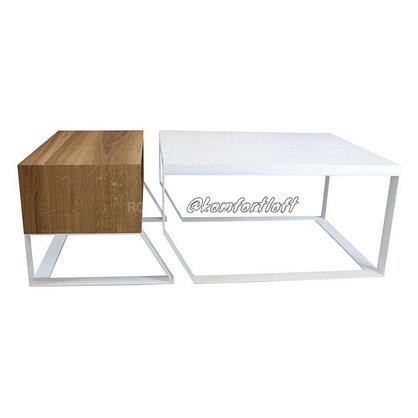 Стол с тумбой в стиле Loft, фото 2
