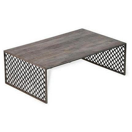 Журнальный стол в стиле Loft (основание металл), фото 2