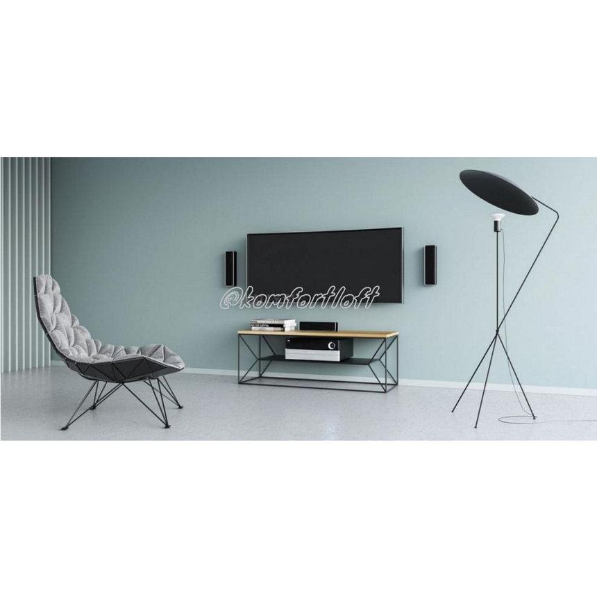 Стол тумба под ТВ в стиле Лофт , фото 2