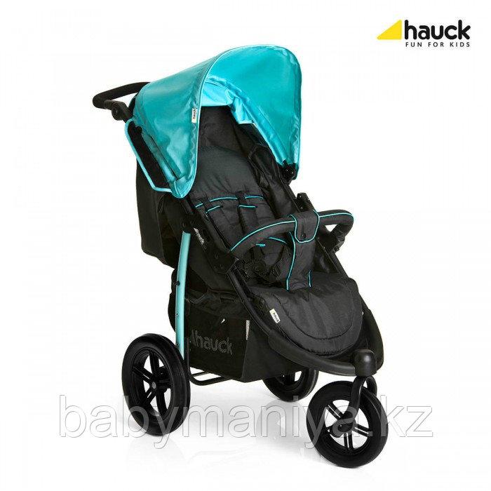 Прогулочная коляска Viper SLX Hauck черно-голубая (Вайпер)