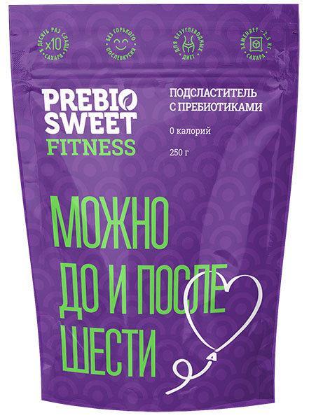 "Подсластитель с пребиотиками ""Prebiosweet Fitness"", 150 г (пребиосвит фитнес)"