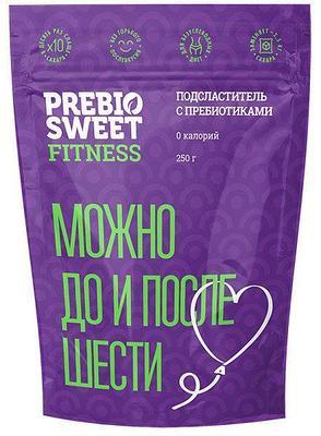 """Prebiosweet Fitness"", 250 г Подсластитель с пребиотиками (пребиосвит)"
