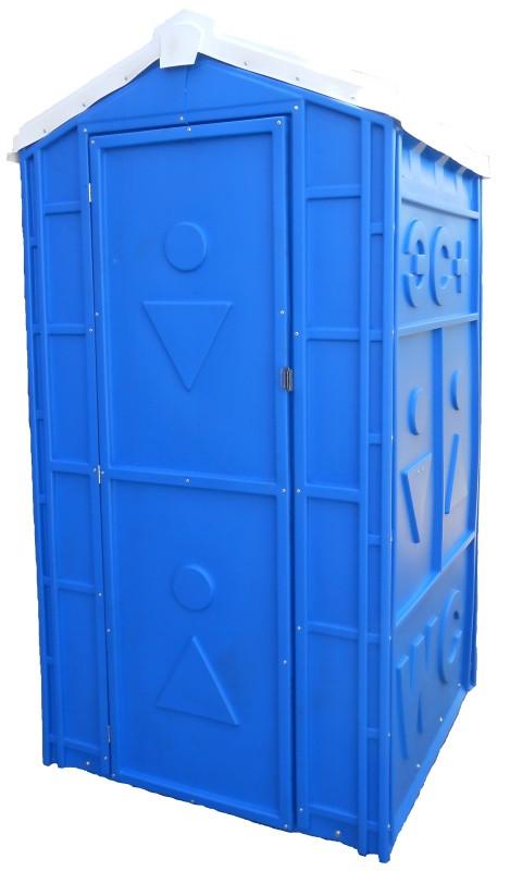 Мобильные туалеты синие