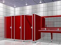 Пластиковые туалетные кабины