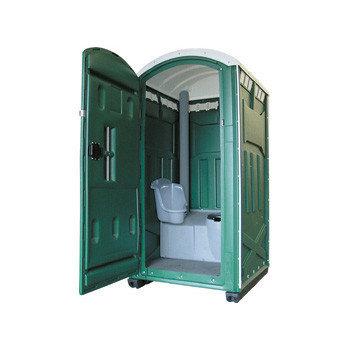 Мобильные туалеты зеленые