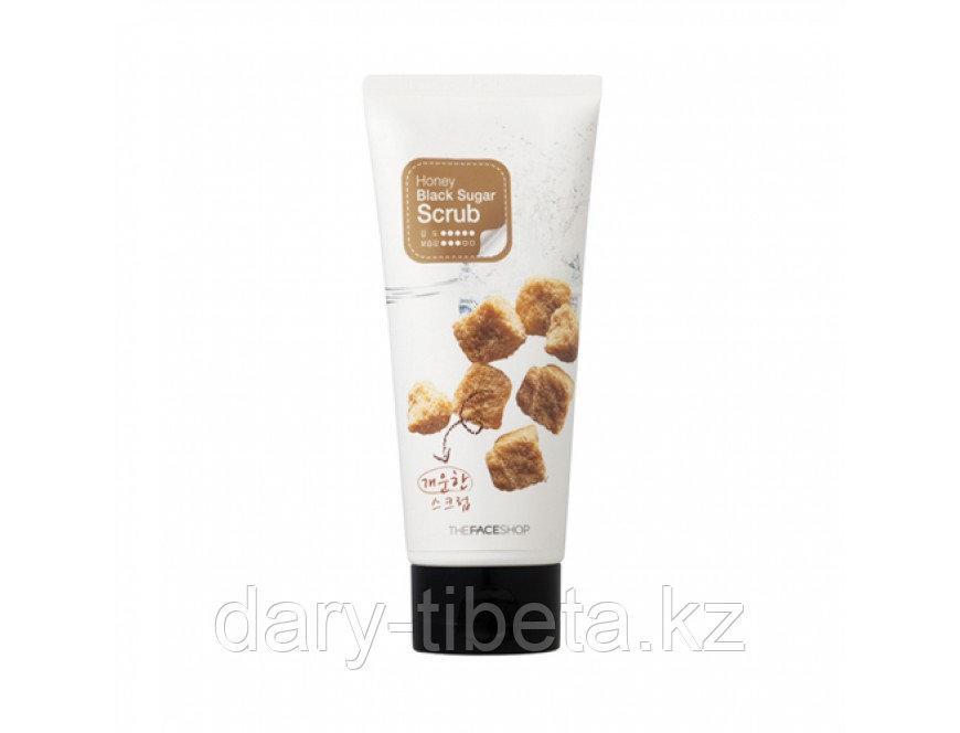 The Face Shop Smart Peeling Honey Black Sugar Scrub 120ml -Скраб-пилинг с экстрактом черного сахара