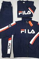 Спортивный мужской костюм-тройка Fila синий