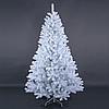 """Густая широкая новогодняя елка белого цвета """"Тундра Платинум"""" - 180 см"""