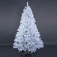 """Густая широкая новогодняя елка белого цвета """"Тундра Платинум"""" - 180 см, фото 1"""
