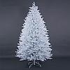 """Красивая белая искусственная елка с литой хвоей """"Тундра Кристалл"""" - 180 см"""