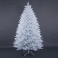 """Белая густая искусственная елка с литой хвоей """"Тундра Кристалл"""" - 220 см"""