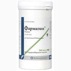Антибиотик Фармазин 500 мг, 200 г