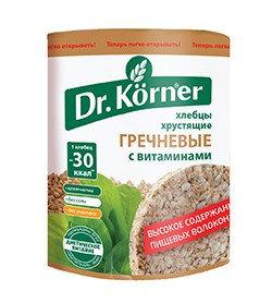 Хлебцы Dr.Korner «Гречневые» с витаминами