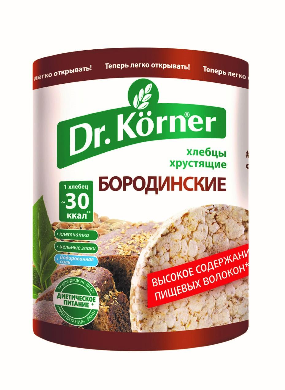 Хлебцы Dr.Korner «Бородинские»